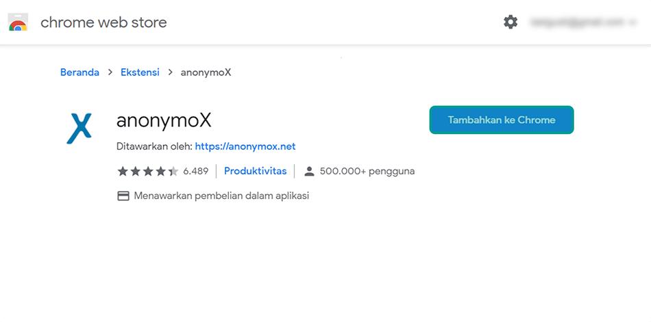 Pasang Ulang Anonymox